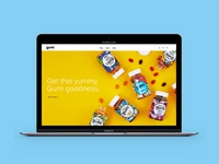 Gumi Vitamins Website