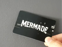 Mermade Lenticular Business Card