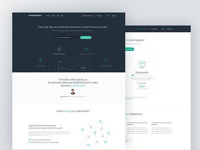 LiveStream webdesign web ux ui