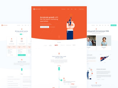 Growth Drivers webdesign web ux ui