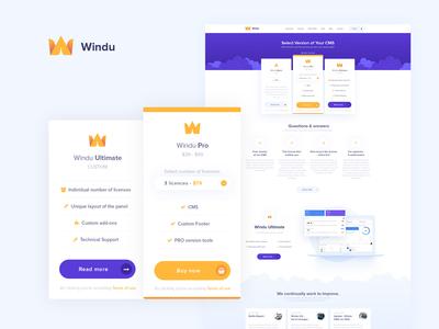 WinduCMS - Pricing