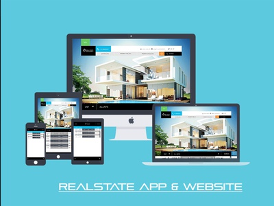 Real state Website & app screen