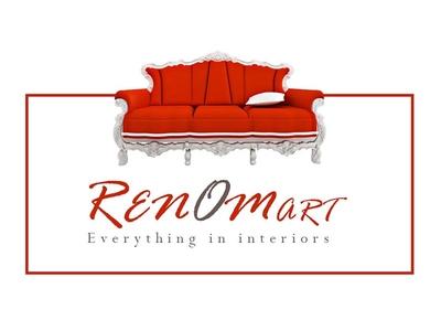 Logo Design For Renomart Home renovation Site