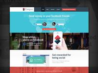 Zunguz - Facebook App Landing Page