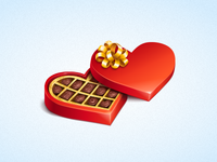 Gifts icon: Candy Box