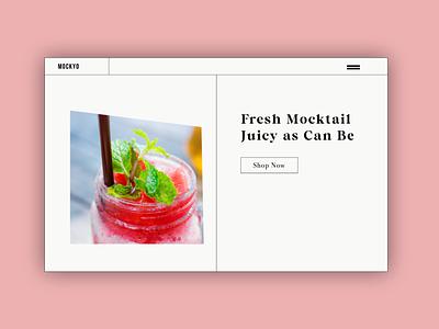 MOCKYO Design Concept branding ui logo illustrations illustration design website concept web design ux graphic design