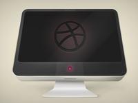 Dribbble Screen