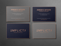 Smplicty | Business Cards