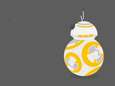 Illustration-BB8 robot wars star wars droid bb8