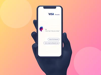 Visa Reward ui ux
