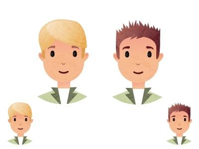 Fellas character characters boy men