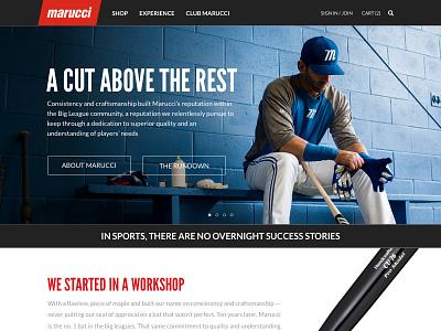 Homepage athlete dark ecommerce sports homepage