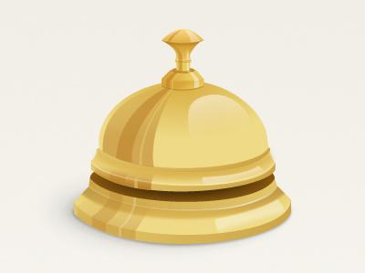 Bell bell gold shine