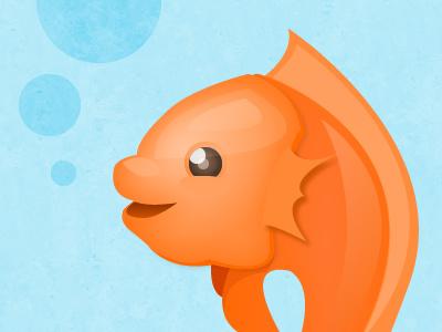 Kiki fish koi orange hanafuda koi-koi
