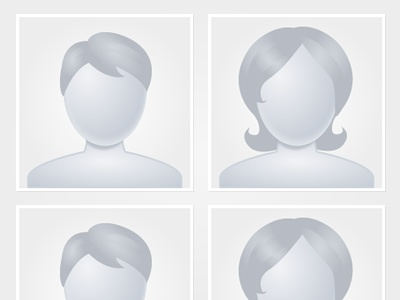 Avatars avatar user blank state no picture no photo grey gray