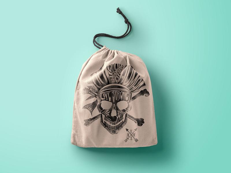 GOOD SOUL IN BAD HUMAN viveksundaramdesignstudio bag design skull and bones artistic print pirates skull logo skull graphic skull a day skull