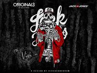JACK&JONES - SKULL GRAPHIC COLLECTION