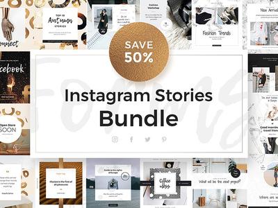 Forms Instagram Stories Bundle