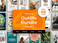 Outlife 40 Instagram Templates