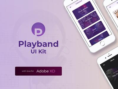 Playband Free Music UI Kit