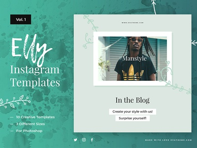 Elly Instagram Templates