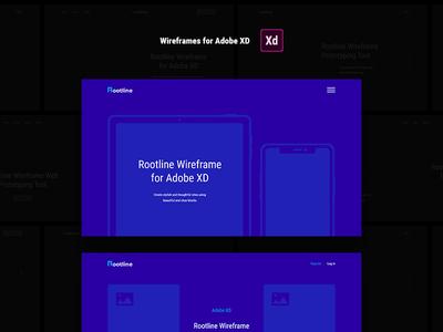 Rootline - Wireframe 20 Categories