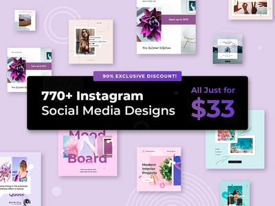 Instagram Designs Bundle