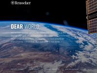 RPI Dear World - Intro Animation