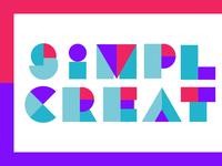 Simple Creature Branding / Lettering Exploration