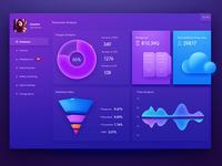 Dashboard UI Design by Zoeyshen