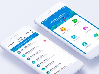 APP UI Design by Zoeyshen