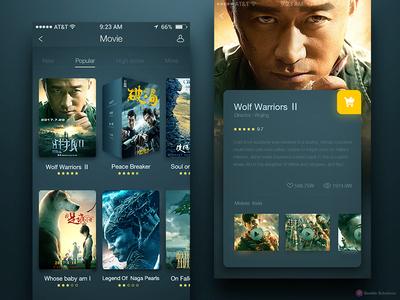APP Movies UI Design
