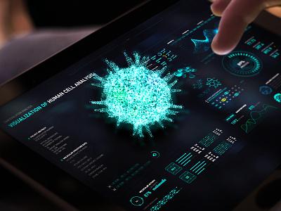 Data Visualization Design of Biomedical data visualization web design web app web fuidesign fui dashboard