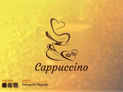 Cappuccino: Branding logo । Coffee logo । cafe logo. startup visual futuristic mark top 2021 logo logo design identity creative logo modern cafe logo coffee logo colorful logo best logo designer popular dribbble shots foysalafi illustration logo graphic design design branding branding logo