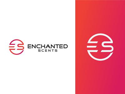 ES Logo Design es logo circle logo branding