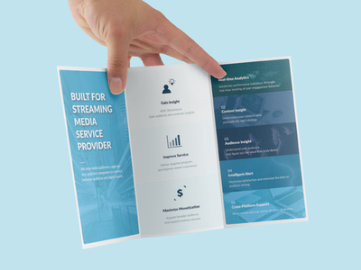 Szr Brochure Design trifolded blue analysis icon information editorial design leaflet brochure
