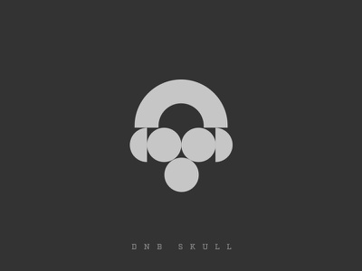 Dnb Skull geometric music modernism minima electonic toxic headphones skull dnb