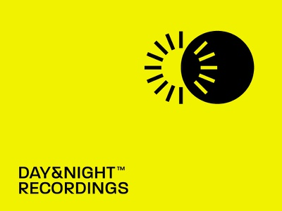 Day and Night Recordings label mix mixer yellow black moon sun track techno record night day