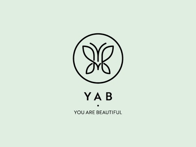 Yab pure light pastel romania stand butterfly transform cosmetics beauty yab