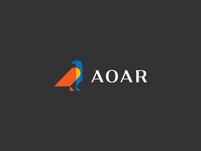 AOAR flag bird innovative vision strong minimalist romanian symbol protector mentor eagle