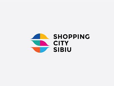 Shopping City Sibiu romania sibiu vibrant puzzle colors eyes monogram mall shopping