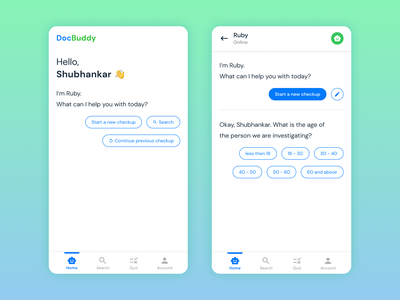 Chatbot App chatbot design appdesign userinterface userexperience mobile app ux ui
