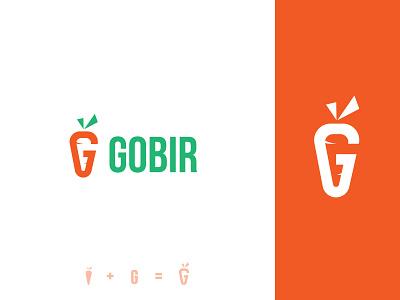G Letter + Carrot modern logo minimal logo logo logo design logo folio dribble vegetable carrot g carrot logo g mark g letter g logo g meaningful logo startup creative logo brand icon brand identity branding