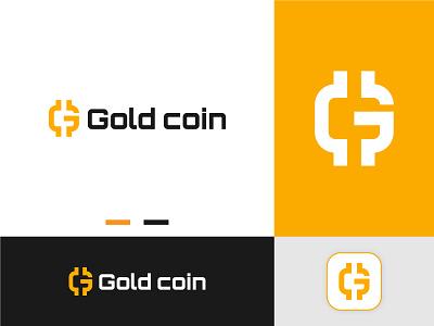 Gold coin - Crypto Branding branding crypto branding icon brand cryptocurrency bitcoin blockchain ethereum currency fintech crypto g letter g creative logo startup technology modern logo btc logo design logo