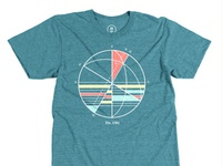 Nautical Map tee