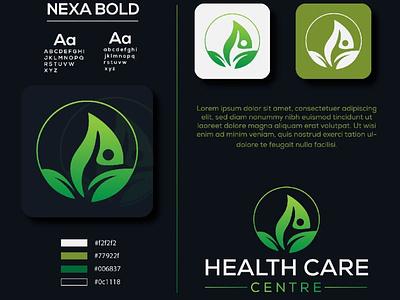 Logo/Medical Care Logo logo icon health care logo green logo medical logo logo design vector branding logo