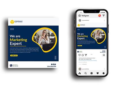 SOCIAL MEDIA TEMPLATE company business corporate cover flyer media social template web banner banner social media post design branding vector instagram post