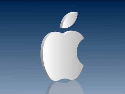 Apple Logo 3d icon illustration logo graphic design branding vector