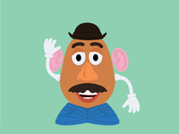 Mr Potato Head from Toy Story