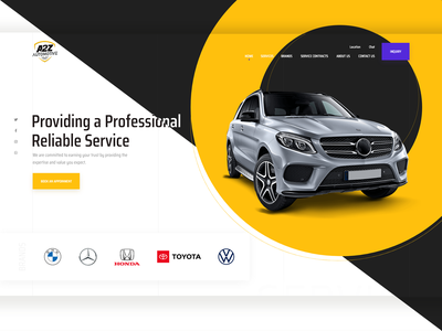 Light + Dark app designer car website automotive design app design freelance designer uiuxdesign mobile app design creative creative agency landing page design